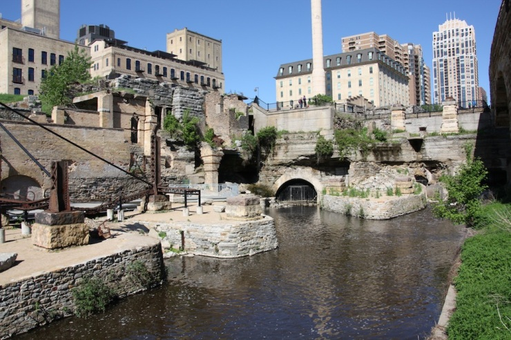 Overall, Mill Ruins Park, downtown Minneapolis