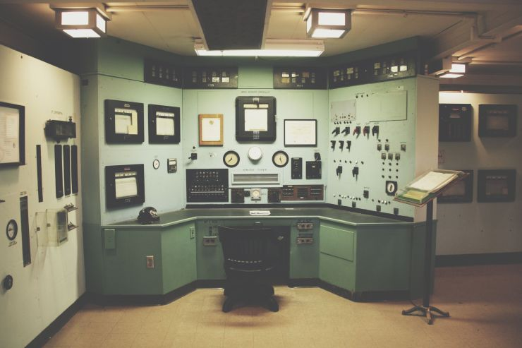 The X-10 Reactor Control Room