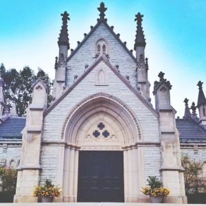 The Gothic Chapel, Crown Hill Cemetery