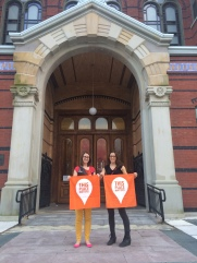 Raina + Kaitlin = #ThisPlaceMatters, the normal version
