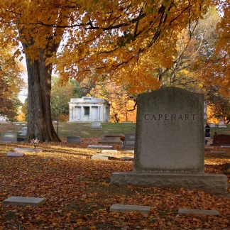 Fall at Crown Hill Cemetery