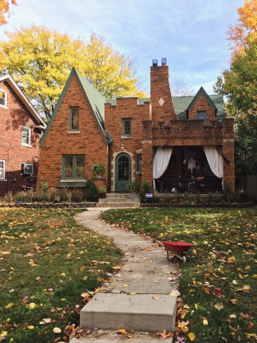 Historic house in Watson Park Indianapolis