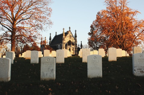 Veterans National Cemetery with Gothic Chapel
