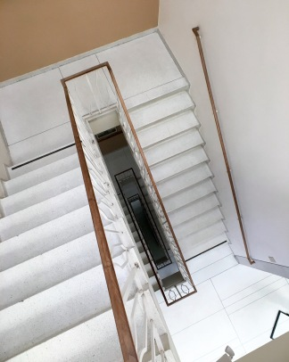 Irwin Library staircase