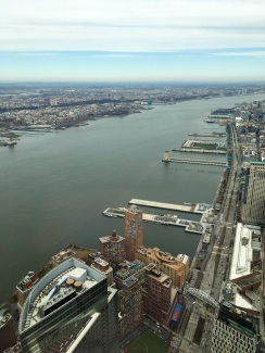 The Hudson River and New Jersey