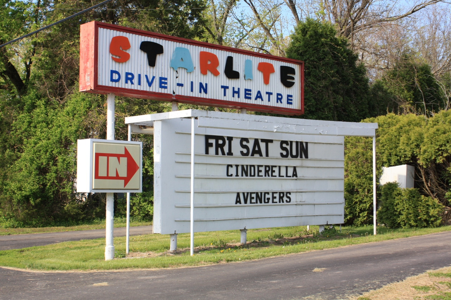 Starlite Drive-In Theatre, Bloomington, Indiana